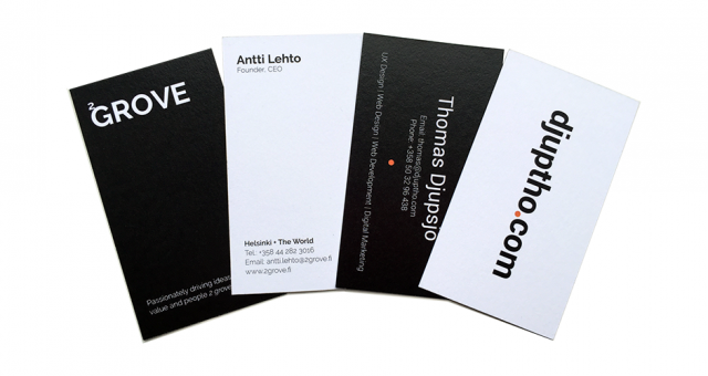 Business Card Design| Djuptho Design